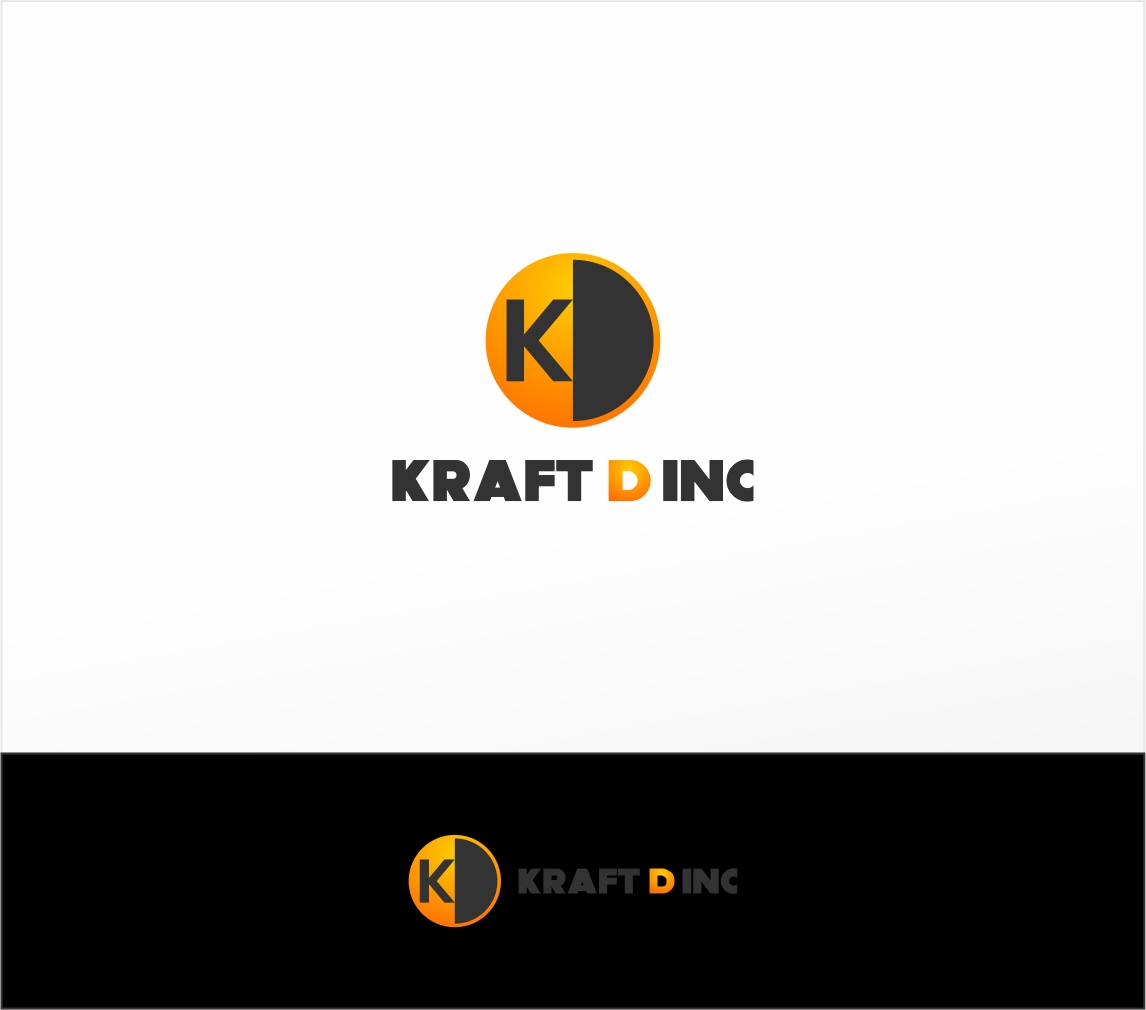 Logo Design by haidu - Entry No. 422 in the Logo Design Contest Unique Logo Design Wanted for Kraft D Inc.