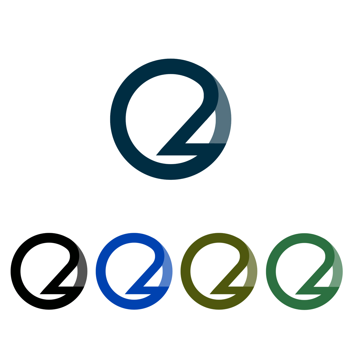 Logo Design by Private User - Entry No. 65 in the Logo Design Contest Artistic Logo Design for O2.