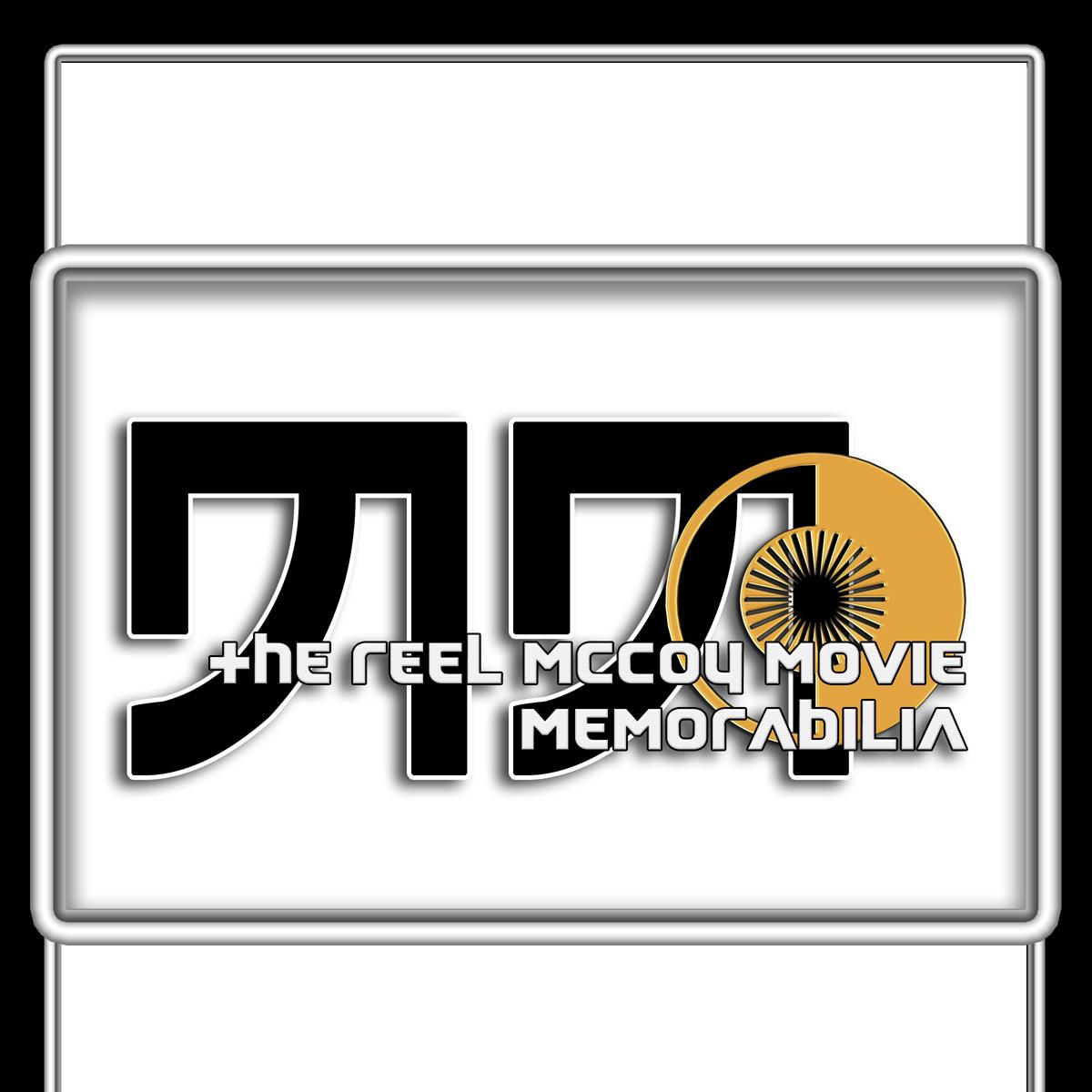 Logo Design by MITUCA ANDREI - Entry No. 4 in the Logo Design Contest Unique Logo Design Wanted for The Reel McCoy Movie Memorabilia.