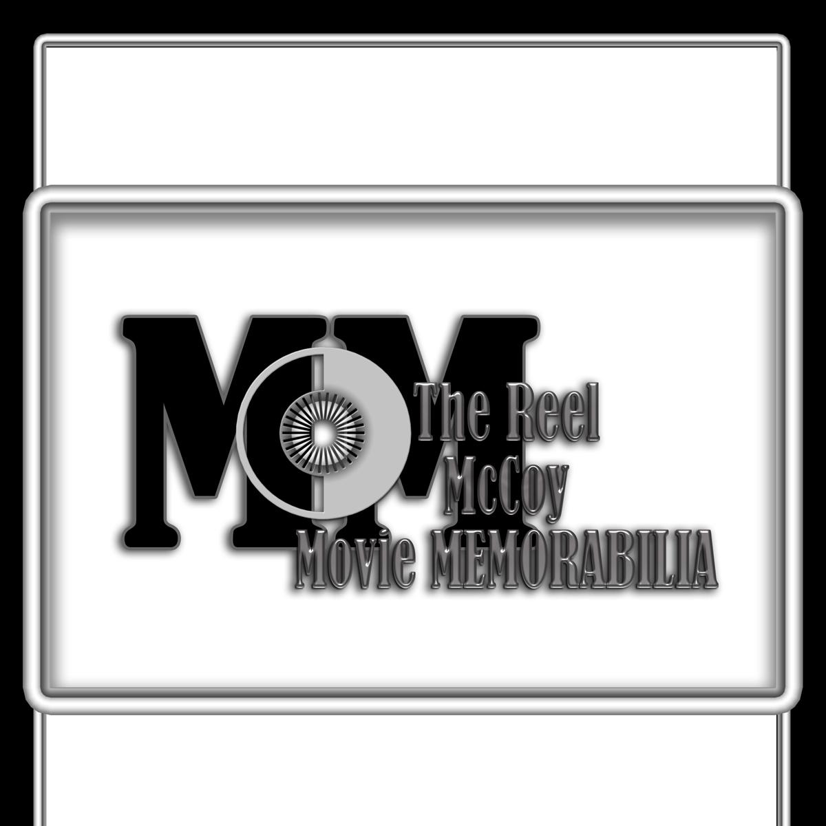 Logo Design by MITUCA ANDREI - Entry No. 6 in the Logo Design Contest Unique Logo Design Wanted for The Reel McCoy Movie Memorabilia.
