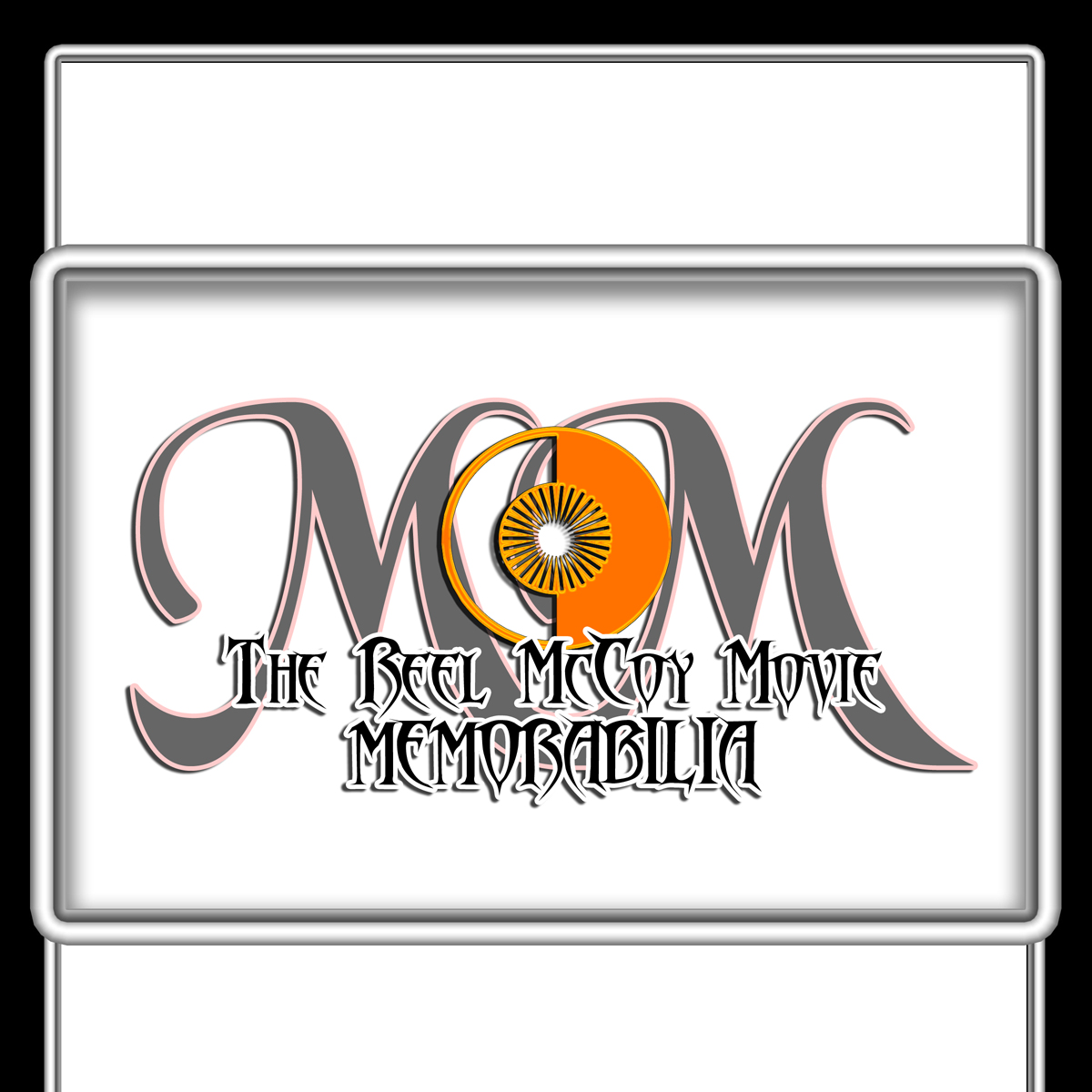Logo Design by MITUCA ANDREI - Entry No. 7 in the Logo Design Contest Unique Logo Design Wanted for The Reel McCoy Movie Memorabilia.