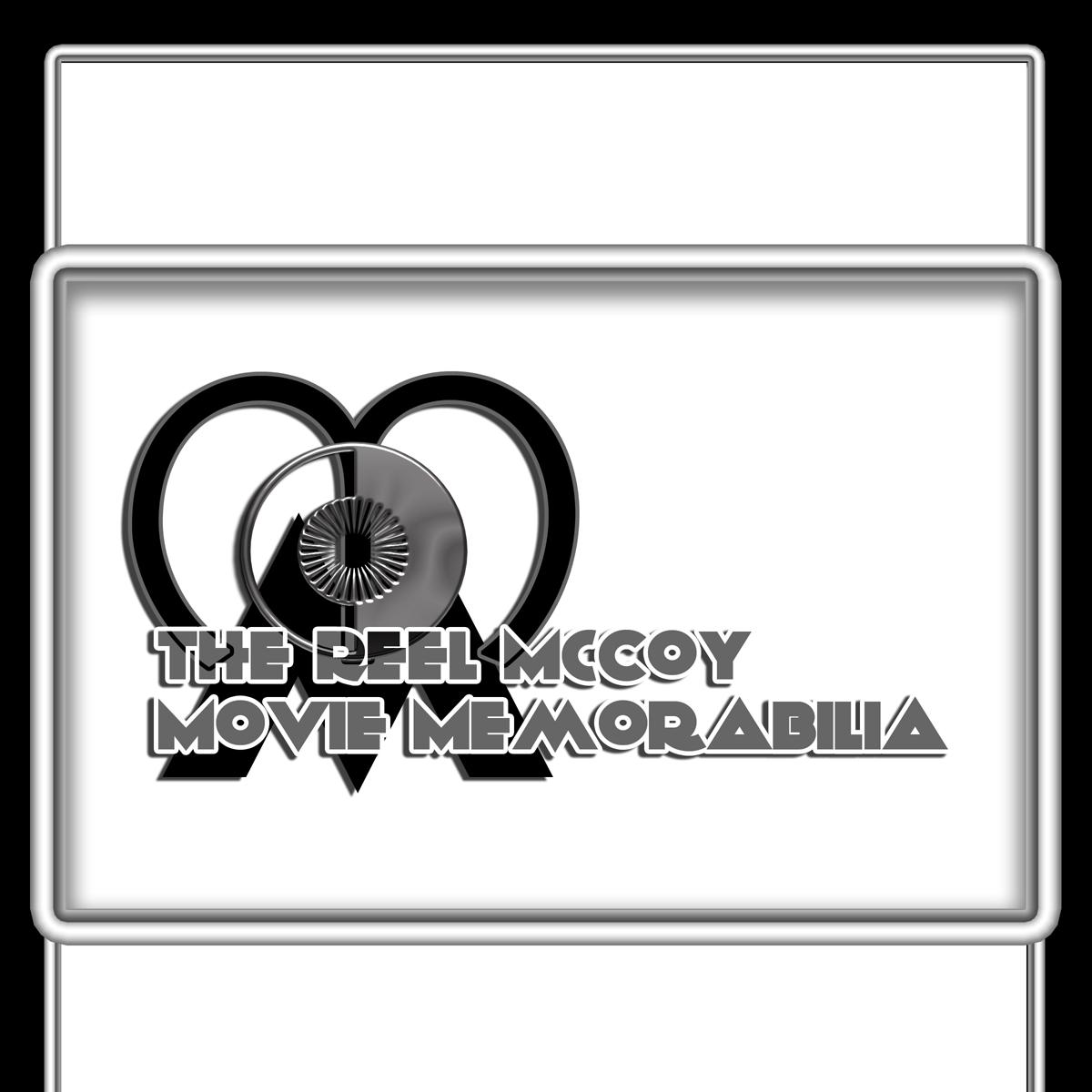 Logo Design by MITUCA ANDREI - Entry No. 10 in the Logo Design Contest Unique Logo Design Wanted for The Reel McCoy Movie Memorabilia.