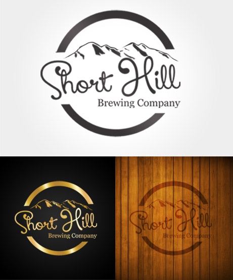 Logo Design by Private User - Entry No. 69 in the Logo Design Contest Unique Logo Design Wanted for Short Hill Brewing Company.