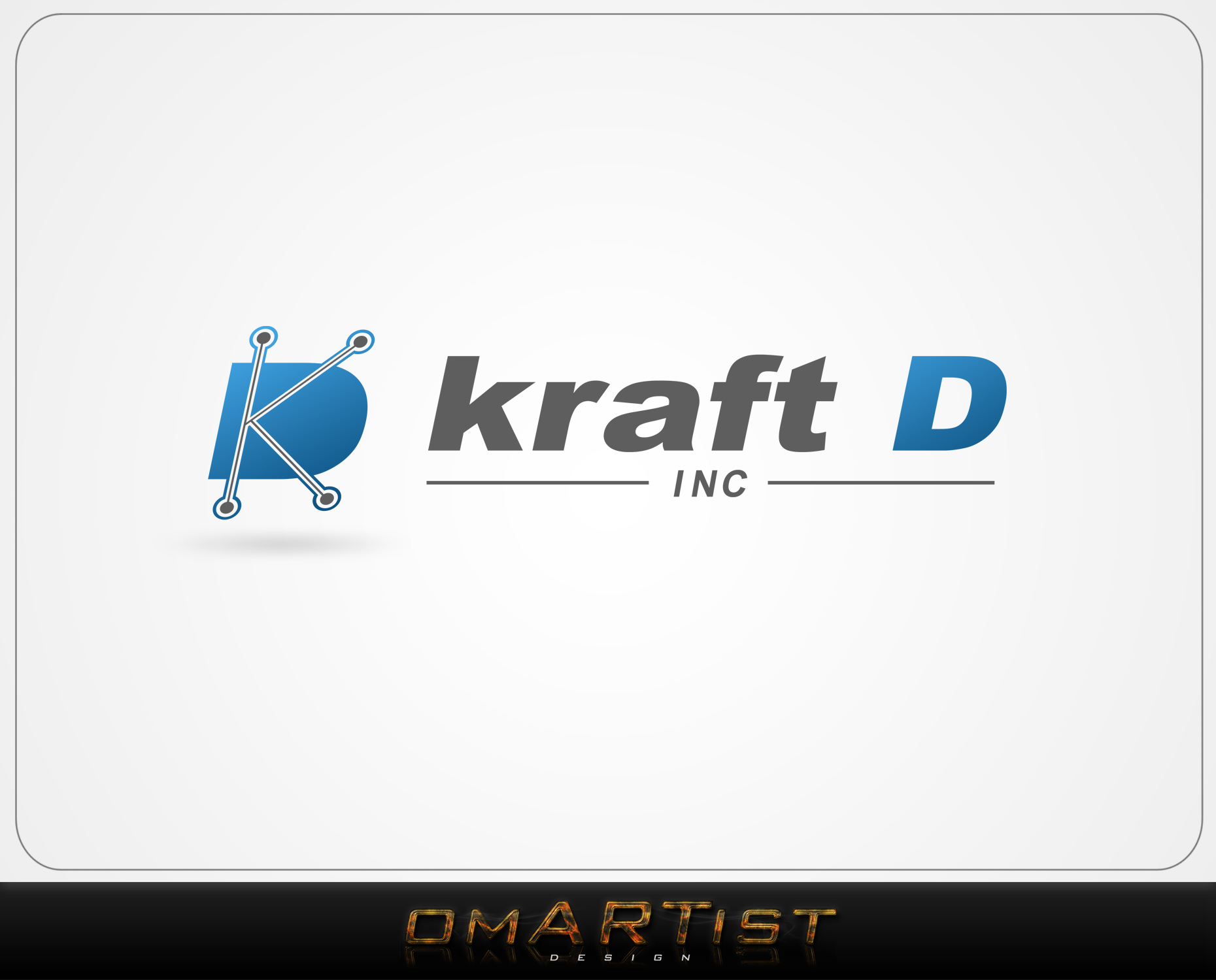 Logo Design by omARTist - Entry No. 425 in the Logo Design Contest Unique Logo Design Wanted for Kraft D Inc.