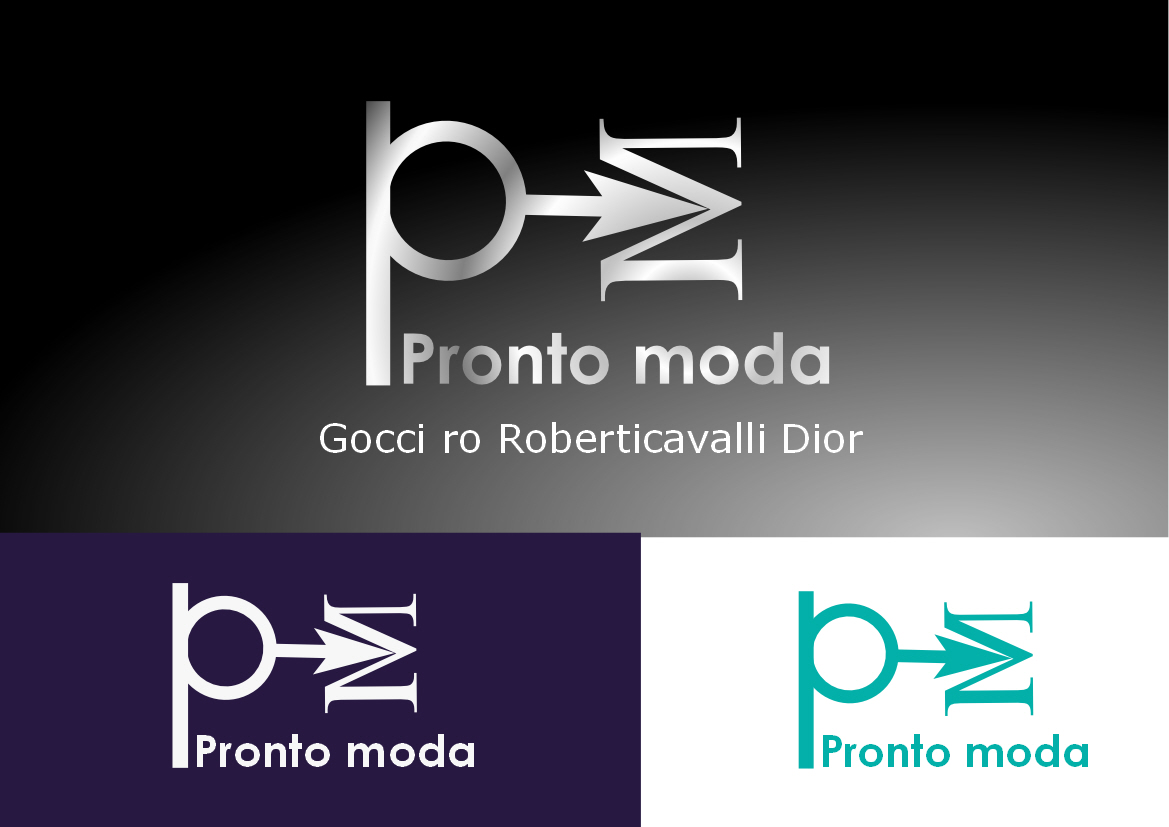 Logo Design by Heri Susanto - Entry No. 44 in the Logo Design Contest Captivating Logo Design for Pronto moda.
