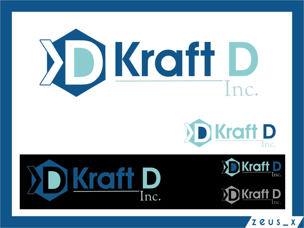 Logo Design by Ngepet_art - Entry No. 427 in the Logo Design Contest Unique Logo Design Wanted for Kraft D Inc.