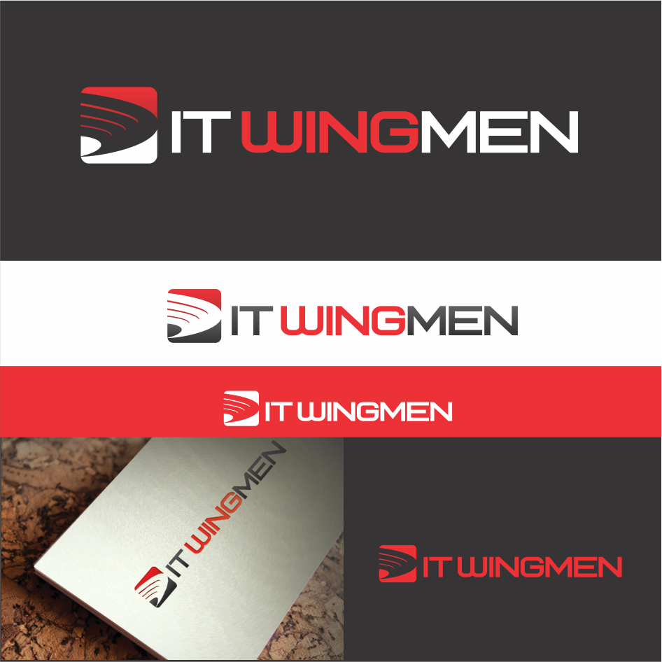 Logo Design by DENOK - Entry No. 36 in the Logo Design Contest New Logo Design for IT Wingmen.