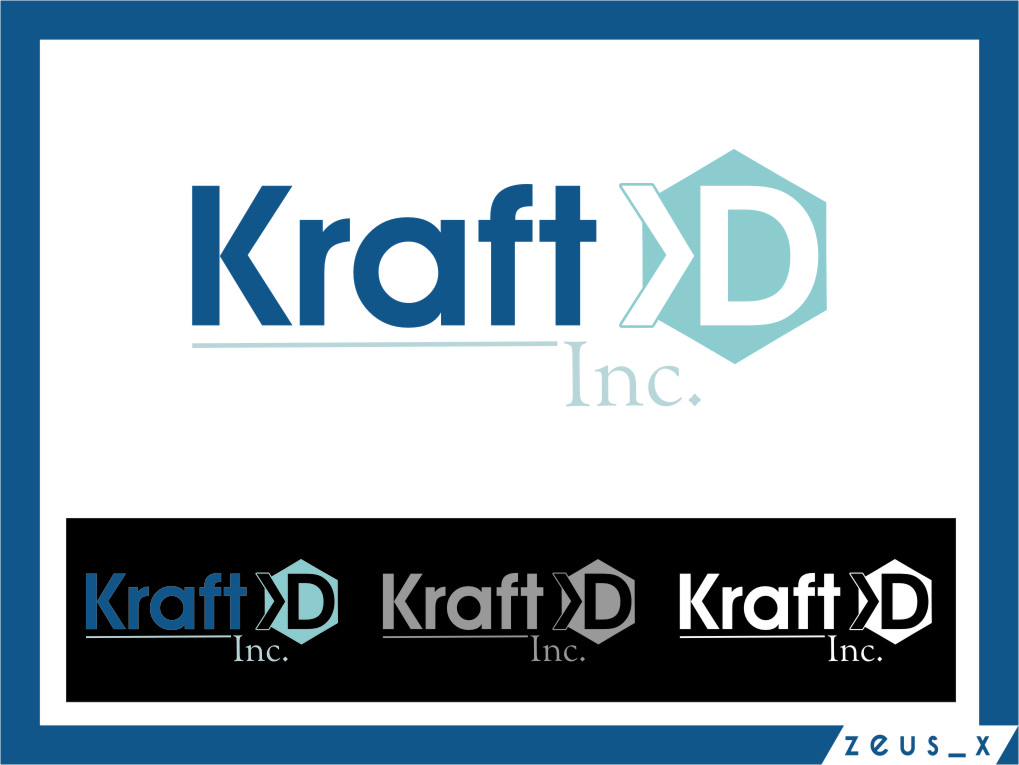 Logo Design by RasYa Muhammad Athaya - Entry No. 429 in the Logo Design Contest Unique Logo Design Wanted for Kraft D Inc.