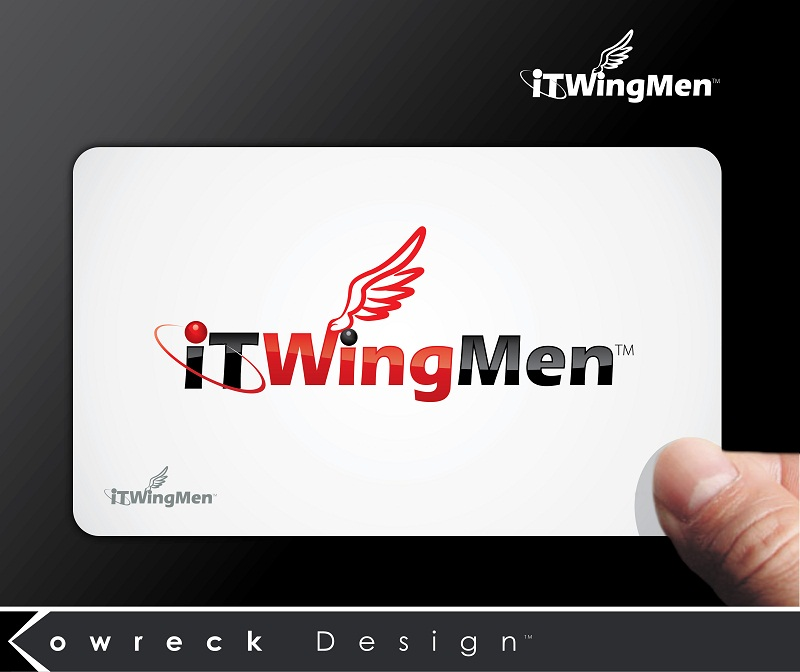 Logo Design by kowreck - Entry No. 37 in the Logo Design Contest New Logo Design for IT Wingmen.