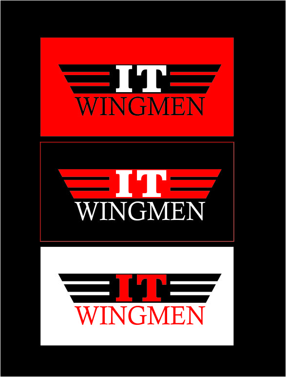 Logo Design by Agus Martoyo - Entry No. 39 in the Logo Design Contest New Logo Design for IT Wingmen.