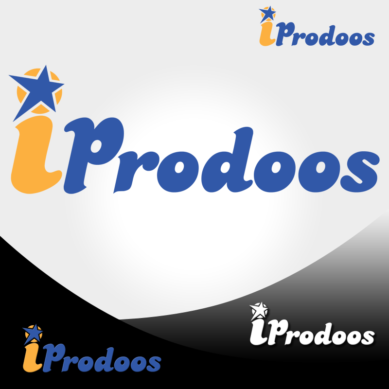 Logo Design by Robert Turla - Entry No. 86 in the Logo Design Contest New Logo Design for iProdoos.