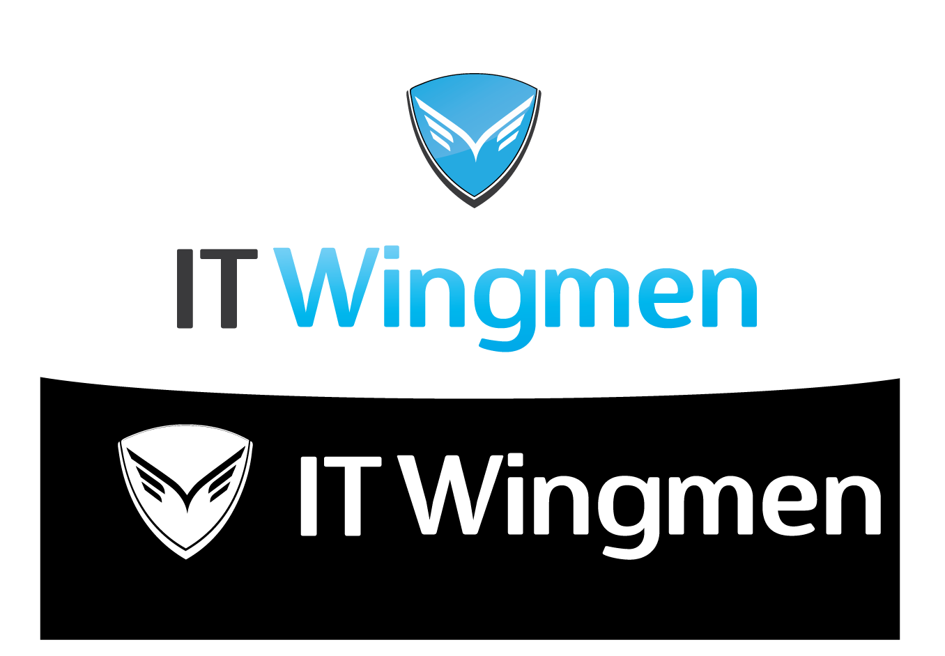 Logo Design by 354studio - Entry No. 40 in the Logo Design Contest New Logo Design for IT Wingmen.