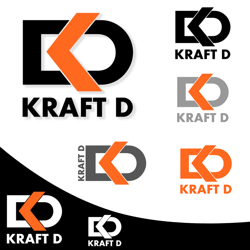 Logo Design by Private User - Entry No. 434 in the Logo Design Contest Unique Logo Design Wanted for Kraft D Inc.