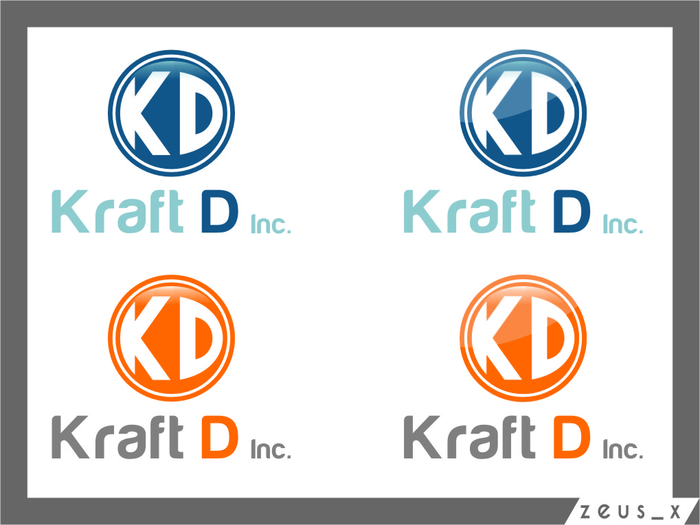 Logo Design by RoSyid Rono-Rene On Java - Entry No. 439 in the Logo Design Contest Unique Logo Design Wanted for Kraft D Inc.