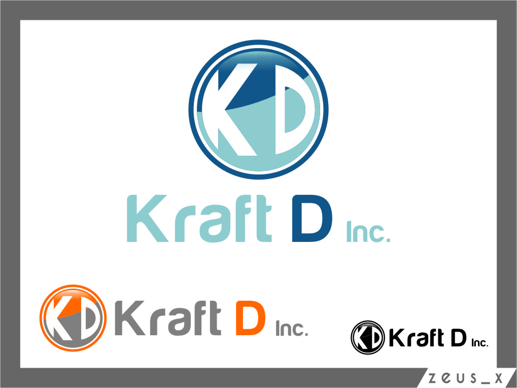 Logo Design by RasYa Muhammad Athaya - Entry No. 441 in the Logo Design Contest Unique Logo Design Wanted for Kraft D Inc.