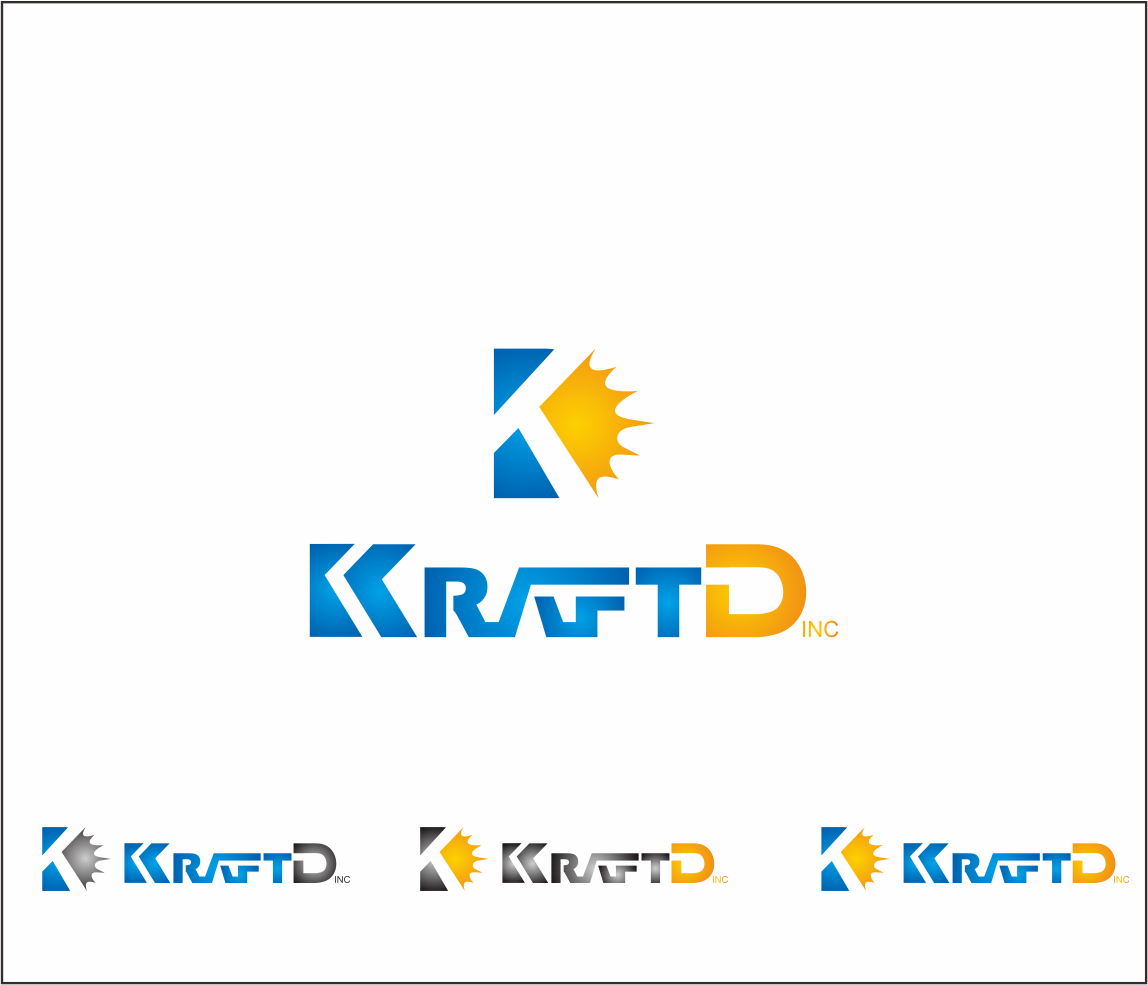 Logo Design by Armada Jamaluddin - Entry No. 442 in the Logo Design Contest Unique Logo Design Wanted for Kraft D Inc.