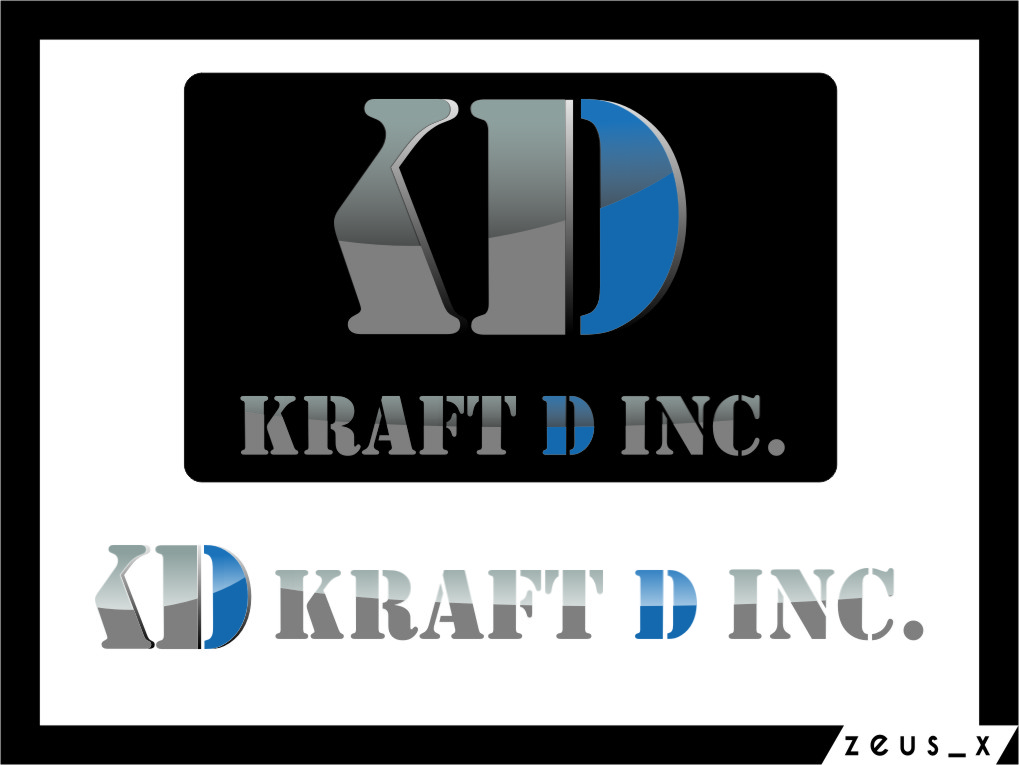 Logo Design by Ngepet_art - Entry No. 443 in the Logo Design Contest Unique Logo Design Wanted for Kraft D Inc.
