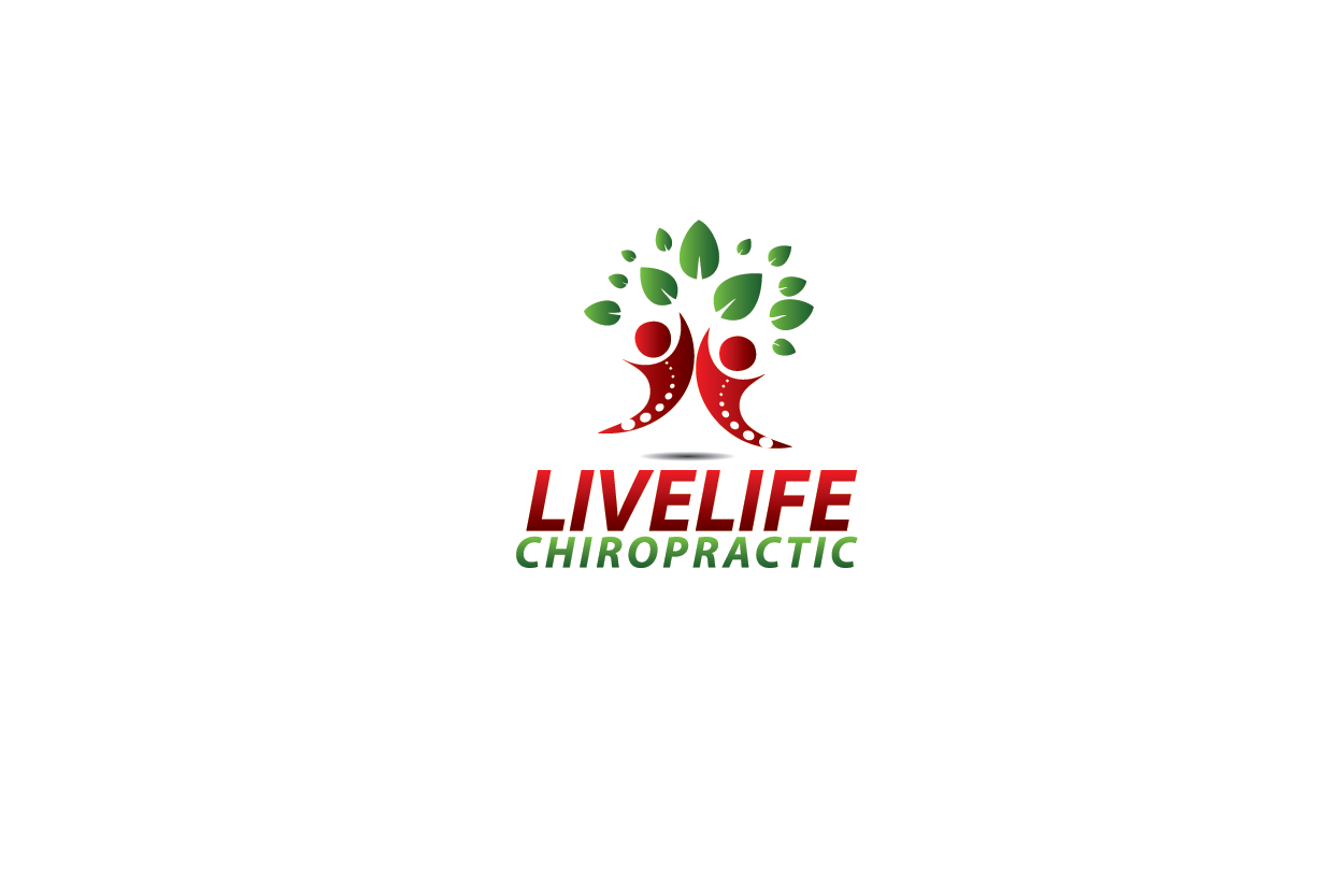 Logo Design by Private User - Entry No. 21 in the Logo Design Contest Captivating Logo Design for LiveLife Chiropractic.