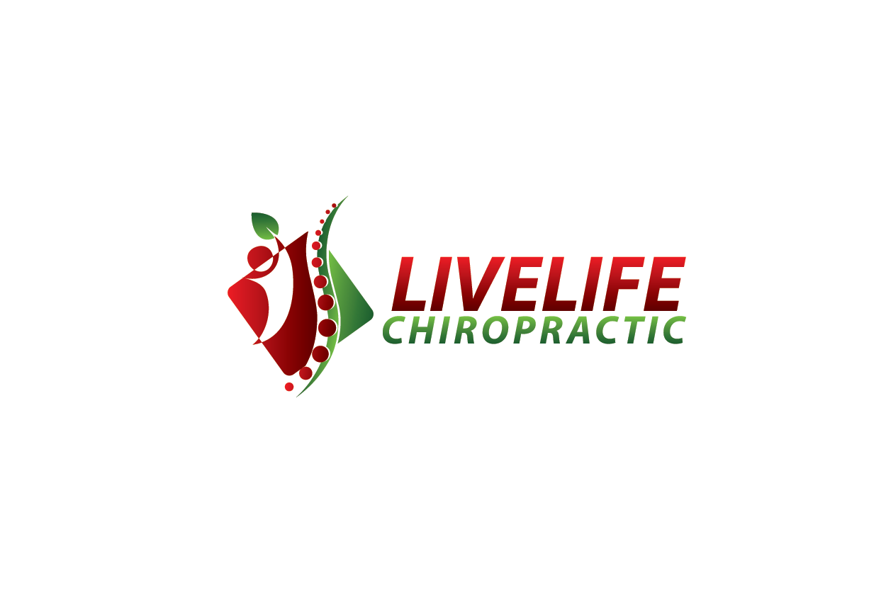 Logo Design by Private User - Entry No. 22 in the Logo Design Contest Captivating Logo Design for LiveLife Chiropractic.