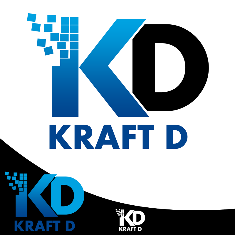 Logo Design by Private User - Entry No. 448 in the Logo Design Contest Unique Logo Design Wanted for Kraft D Inc.