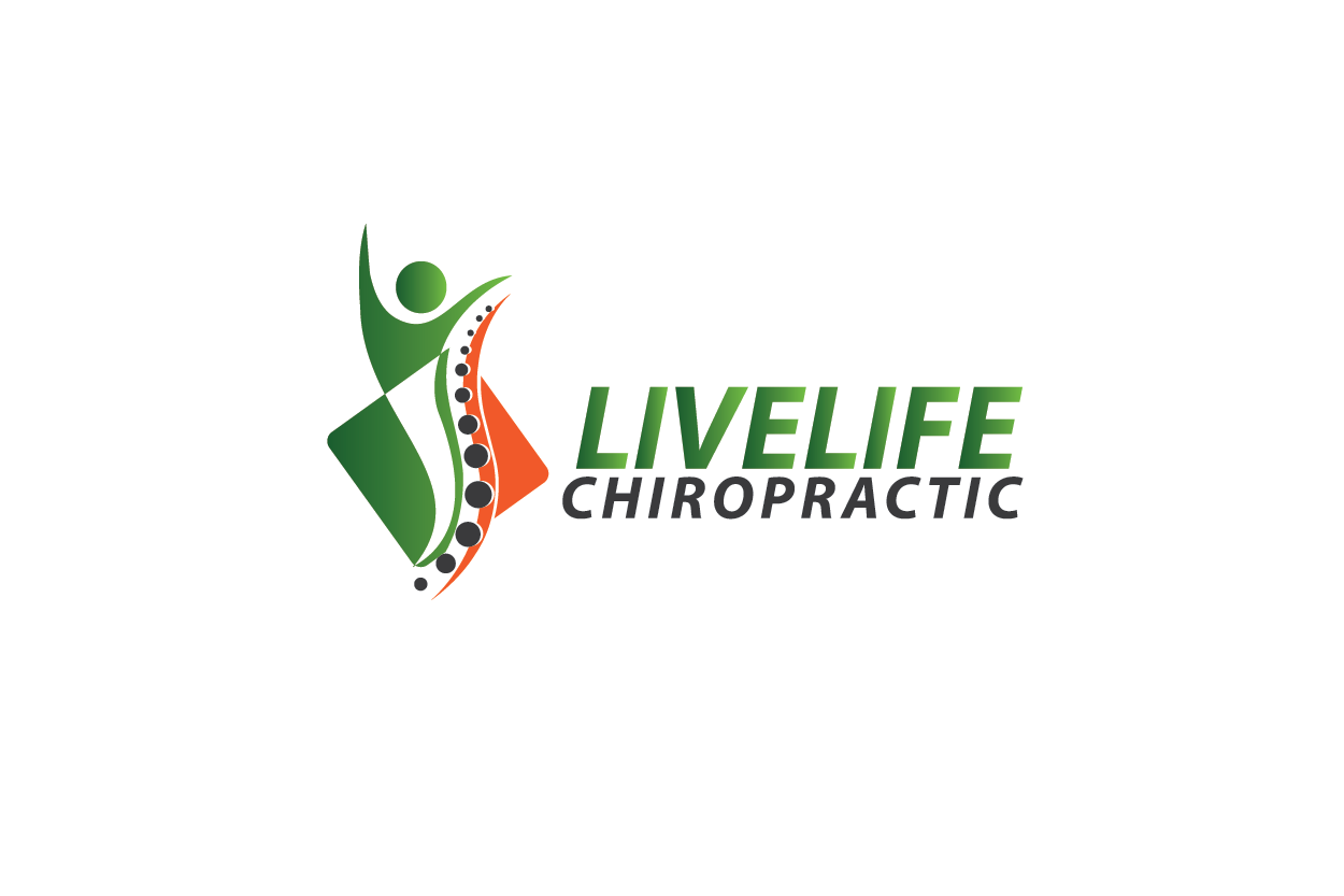 Logo Design by Private User - Entry No. 23 in the Logo Design Contest Captivating Logo Design for LiveLife Chiropractic.