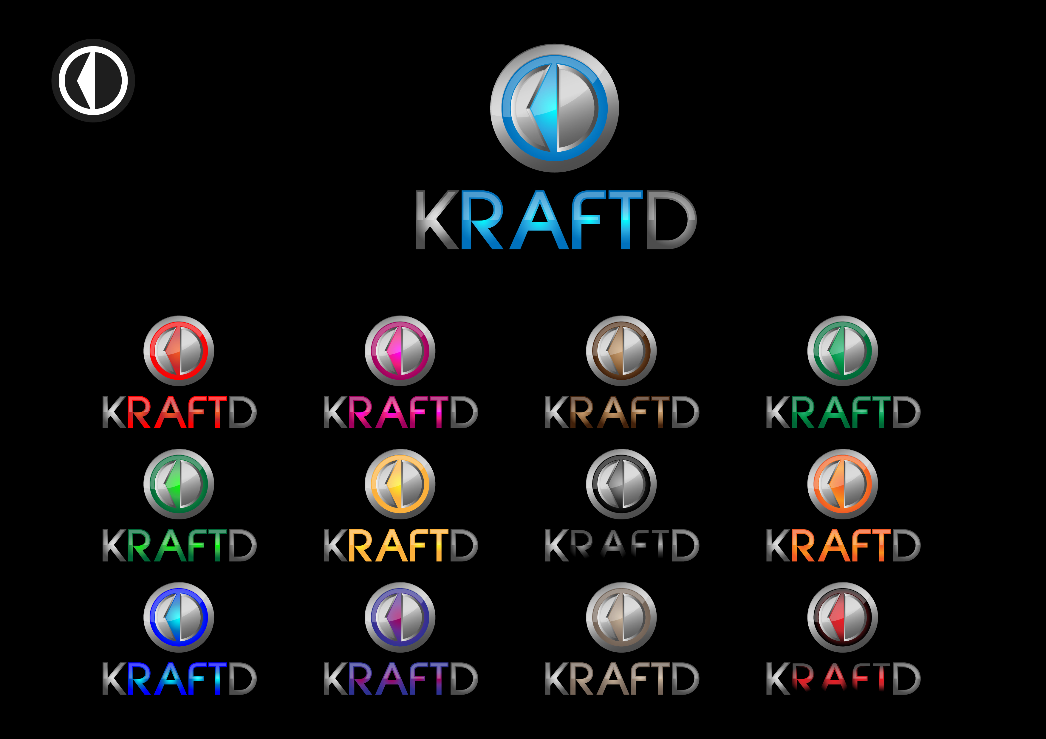 Logo Design by 3draw - Entry No. 452 in the Logo Design Contest Unique Logo Design Wanted for Kraft D Inc.