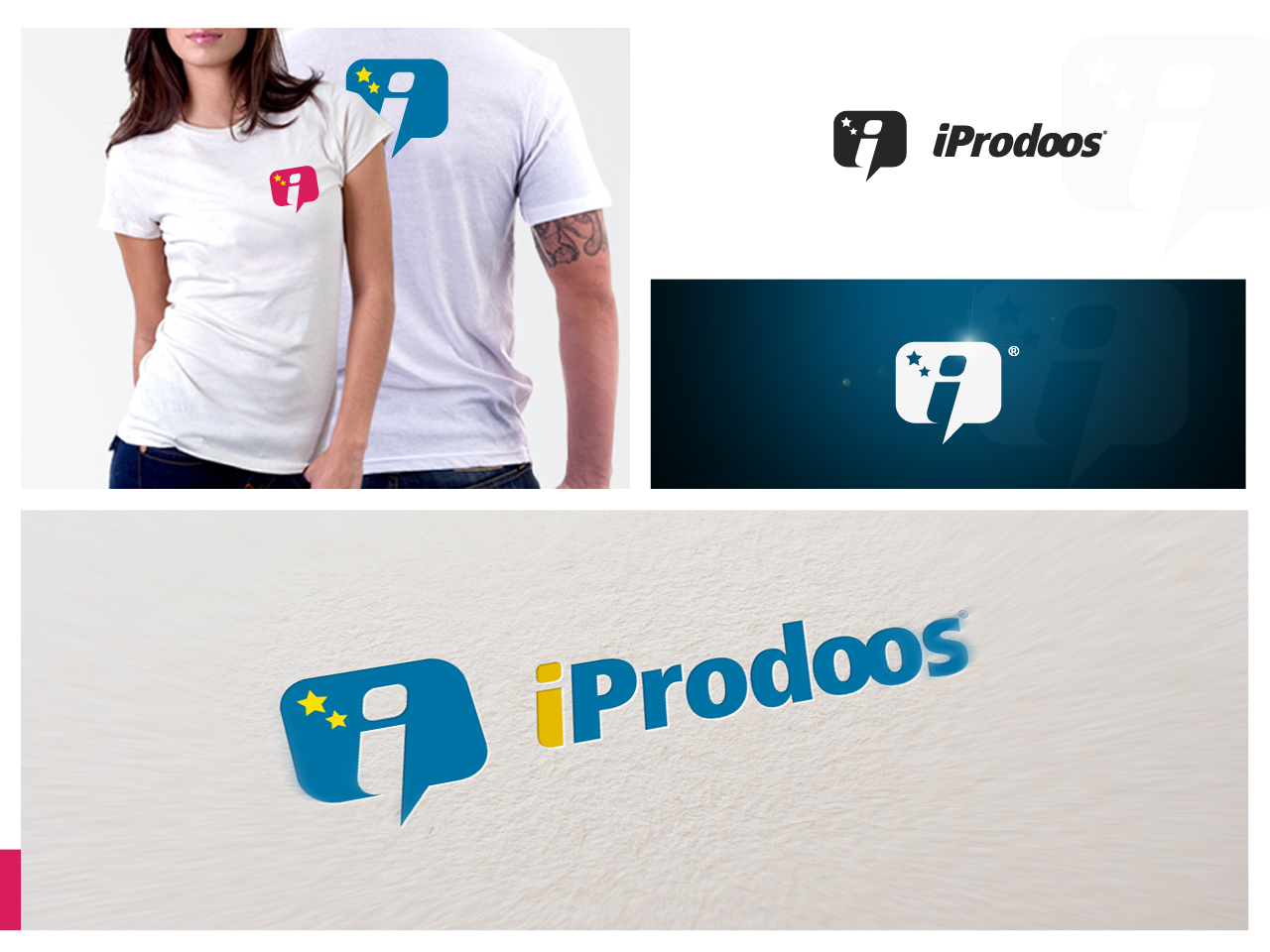 Logo Design by jpbituin - Entry No. 92 in the Logo Design Contest New Logo Design for iProdoos.