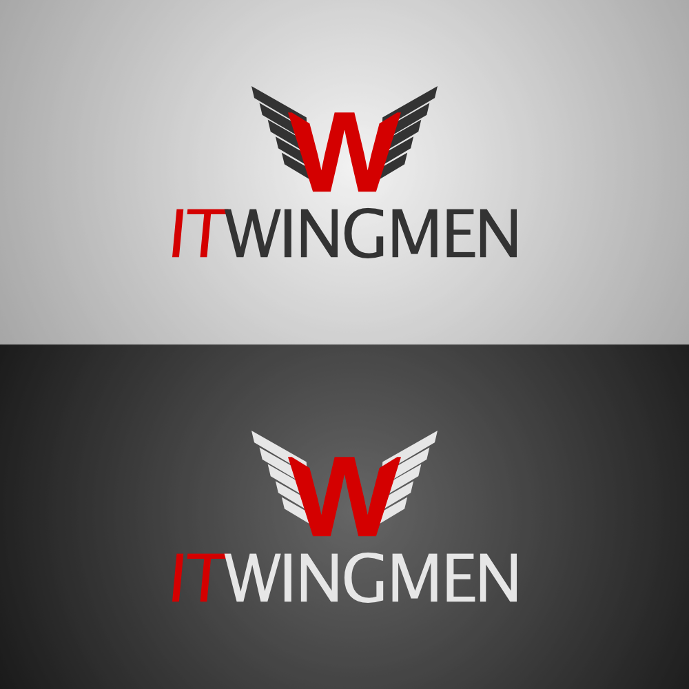 Logo Design by tooman - Entry No. 45 in the Logo Design Contest New Logo Design for IT Wingmen.