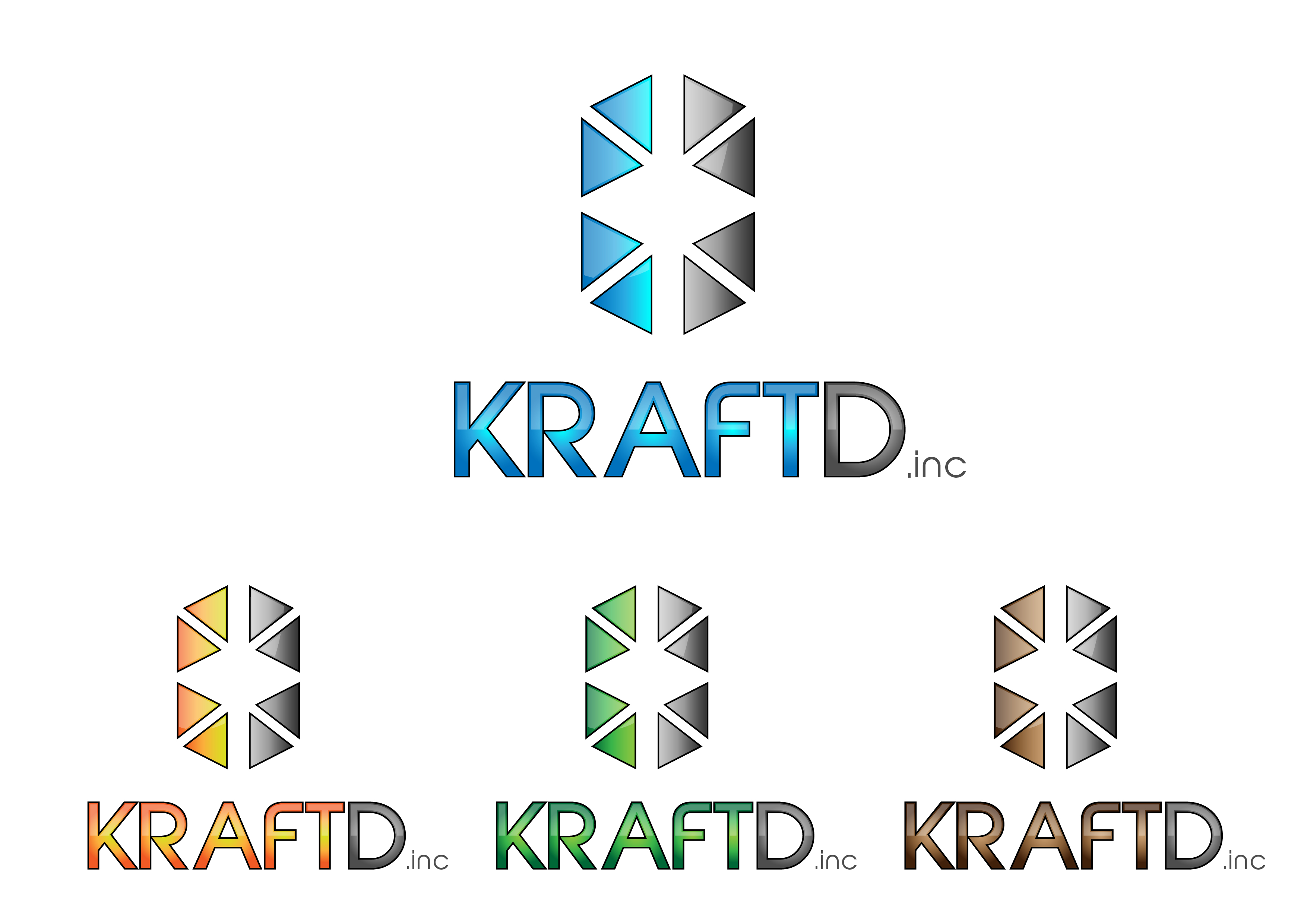 Logo Design by 3draw - Entry No. 457 in the Logo Design Contest Unique Logo Design Wanted for Kraft D Inc.