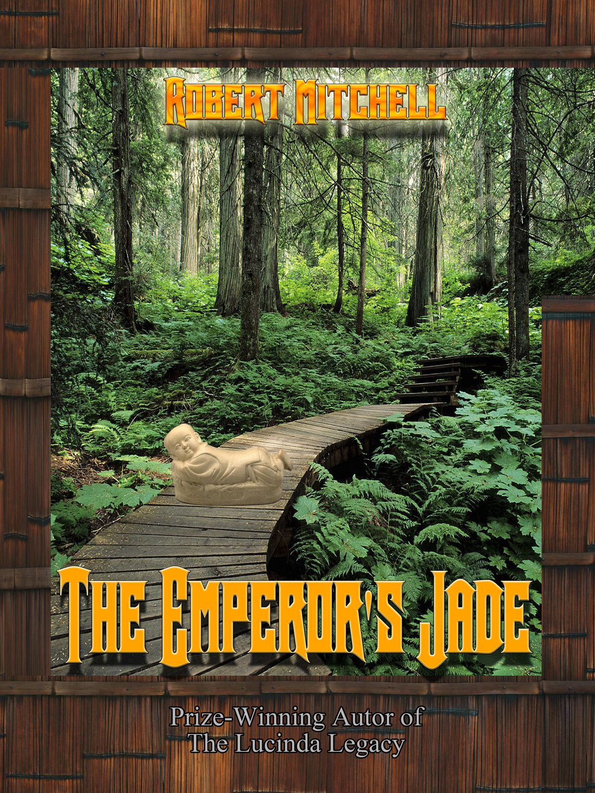 Book Cover Design by MITUCA ANDREI - Entry No. 40 in the Book Cover Design Contest Book Cover Design for The Emperor's Jade.