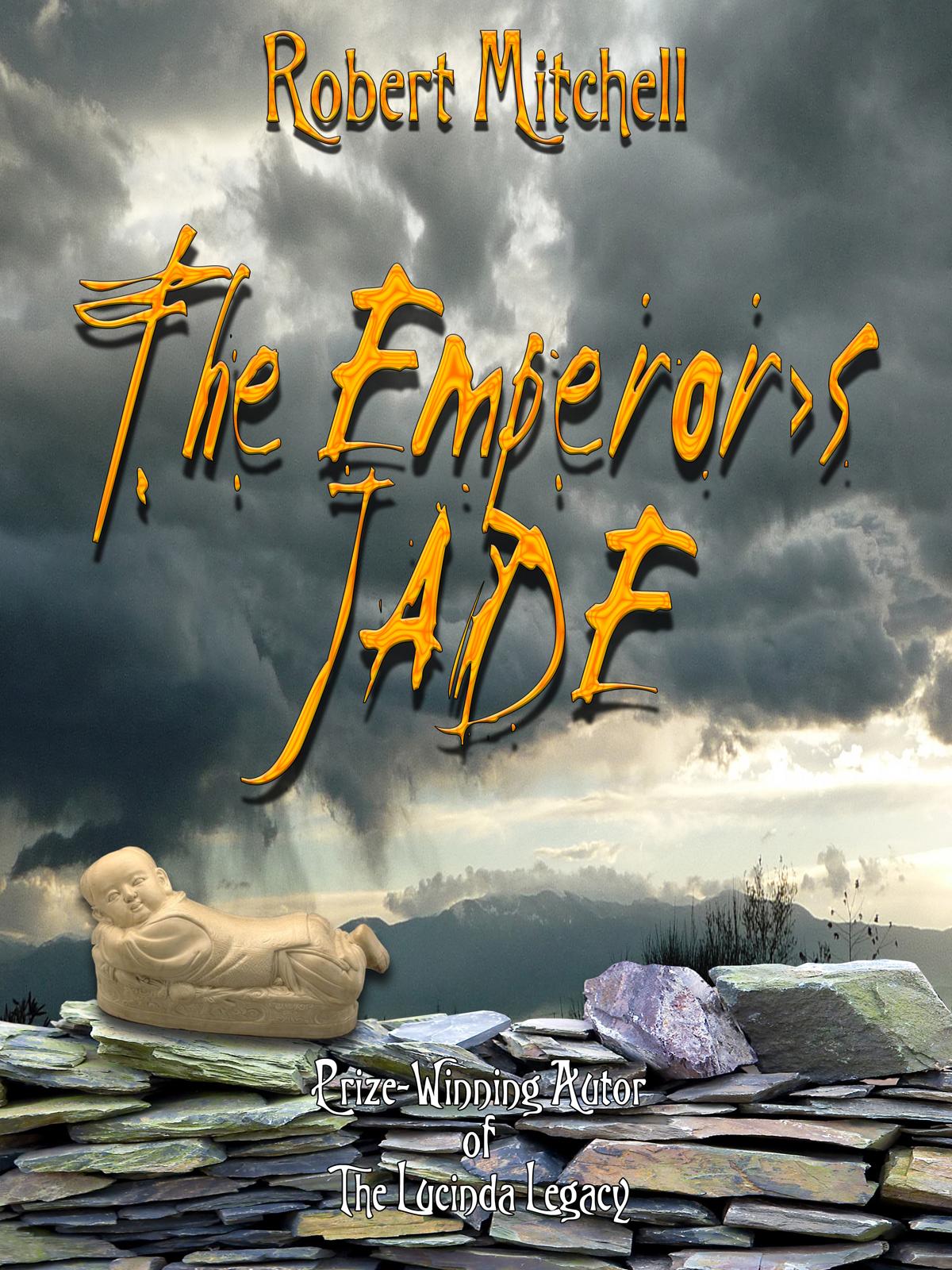 Book Cover Design by MITUCA ANDREI - Entry No. 41 in the Book Cover Design Contest Book Cover Design for The Emperor's Jade.