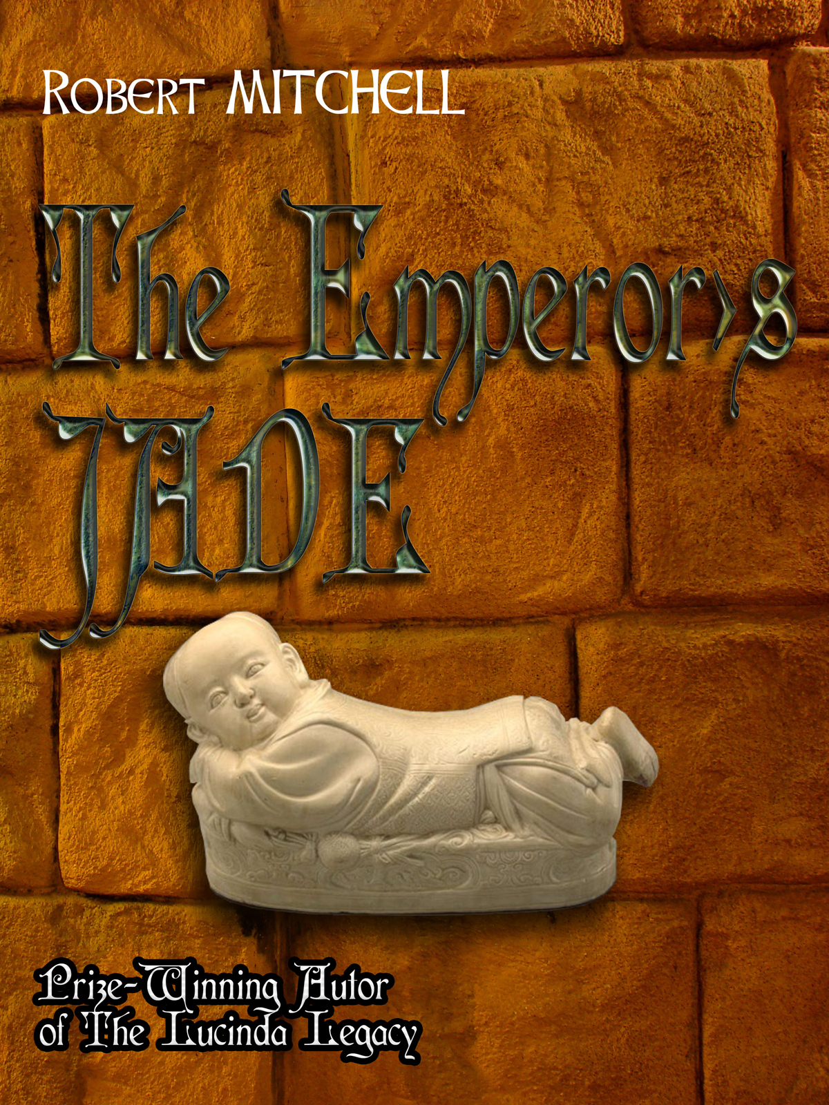 Book Cover Design by MITUCA ANDREI - Entry No. 43 in the Book Cover Design Contest Book Cover Design for The Emperor's Jade.
