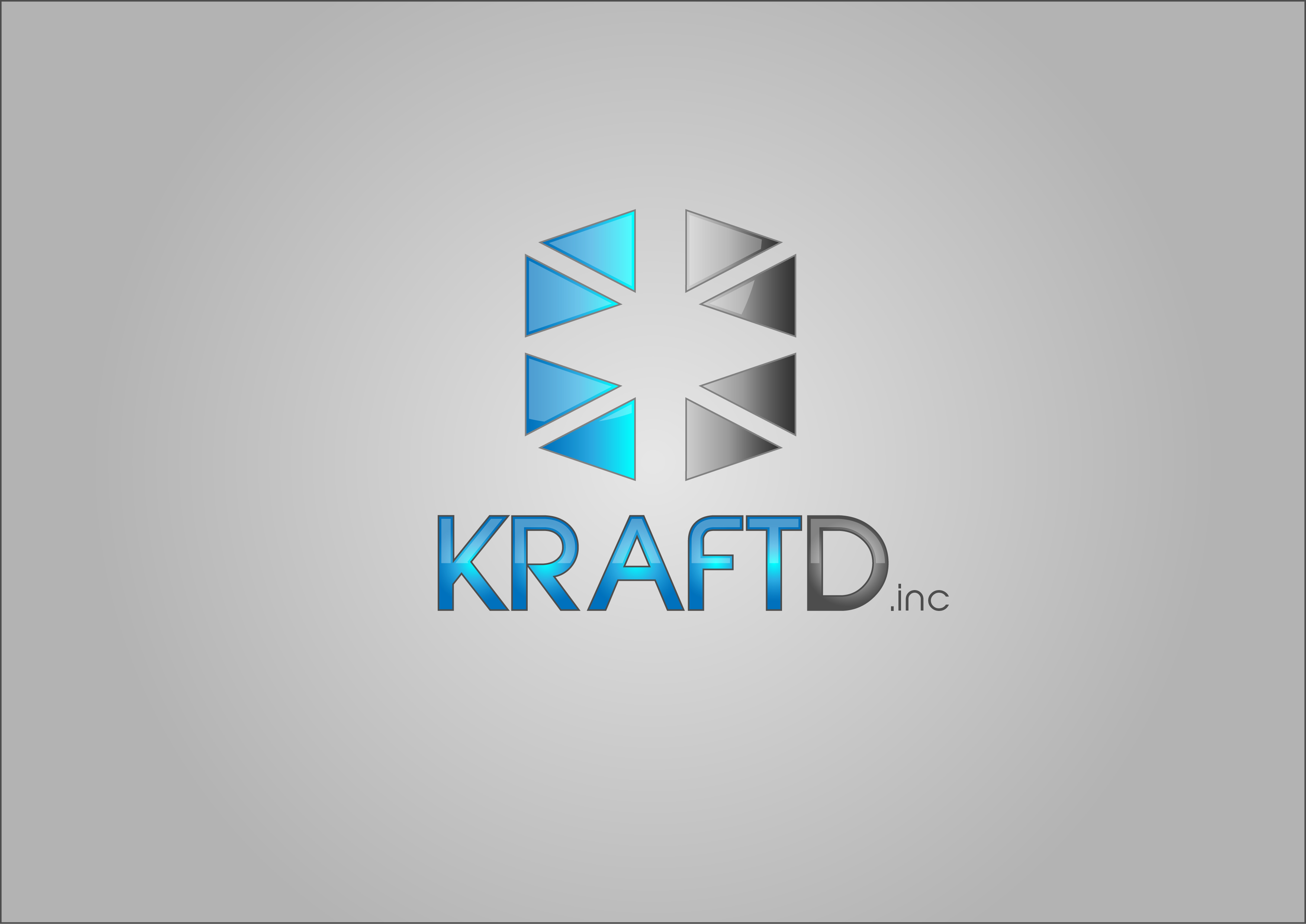 Logo Design by 3draw - Entry No. 459 in the Logo Design Contest Unique Logo Design Wanted for Kraft D Inc.