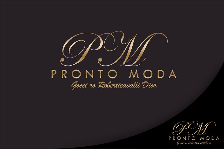 Logo Design by Private User - Entry No. 48 in the Logo Design Contest Captivating Logo Design for Pronto moda.