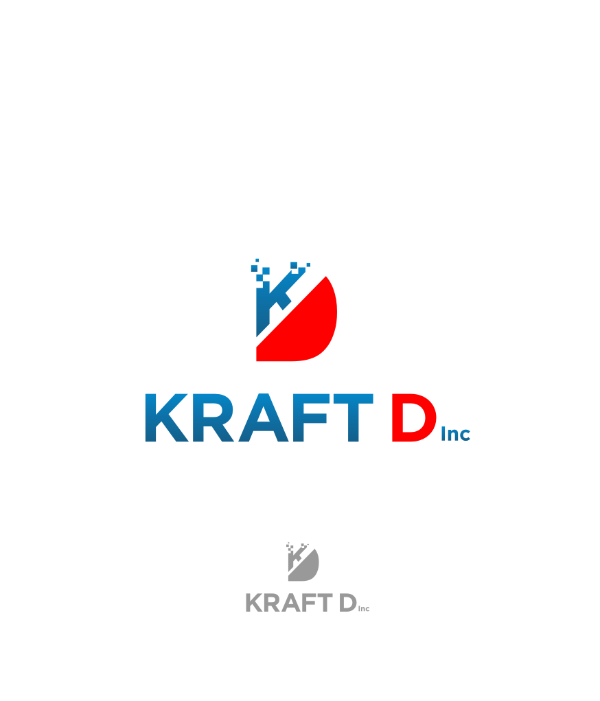 Logo Design by graphicleaf - Entry No. 466 in the Logo Design Contest Unique Logo Design Wanted for Kraft D Inc.