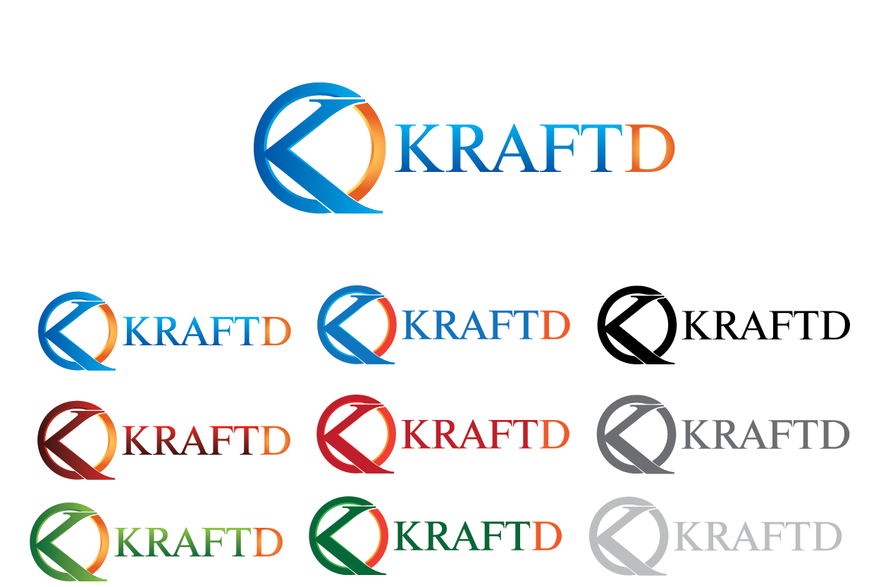 Logo Design by Private User - Entry No. 467 in the Logo Design Contest Unique Logo Design Wanted for Kraft D Inc.