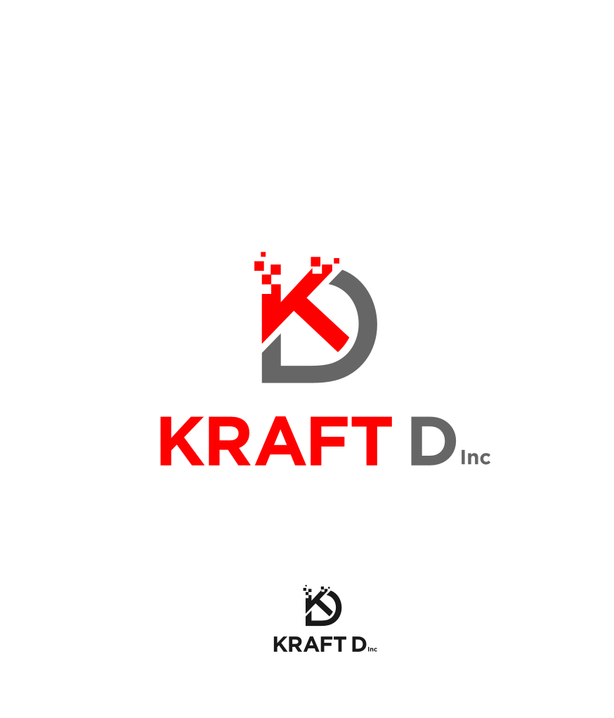 Logo Design by graphicleaf - Entry No. 469 in the Logo Design Contest Unique Logo Design Wanted for Kraft D Inc.
