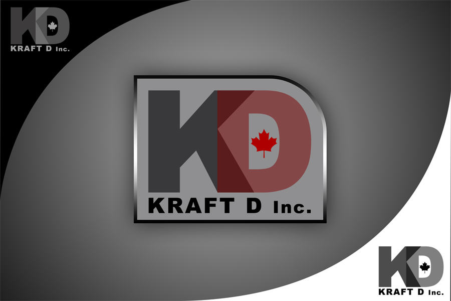 Logo Design by Private User - Entry No. 472 in the Logo Design Contest Unique Logo Design Wanted for Kraft D Inc.