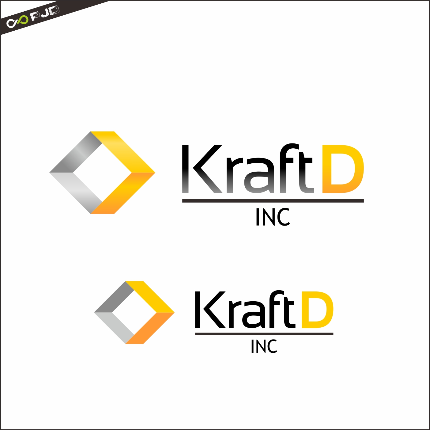 Logo Design by PJD - Entry No. 473 in the Logo Design Contest Unique Logo Design Wanted for Kraft D Inc.