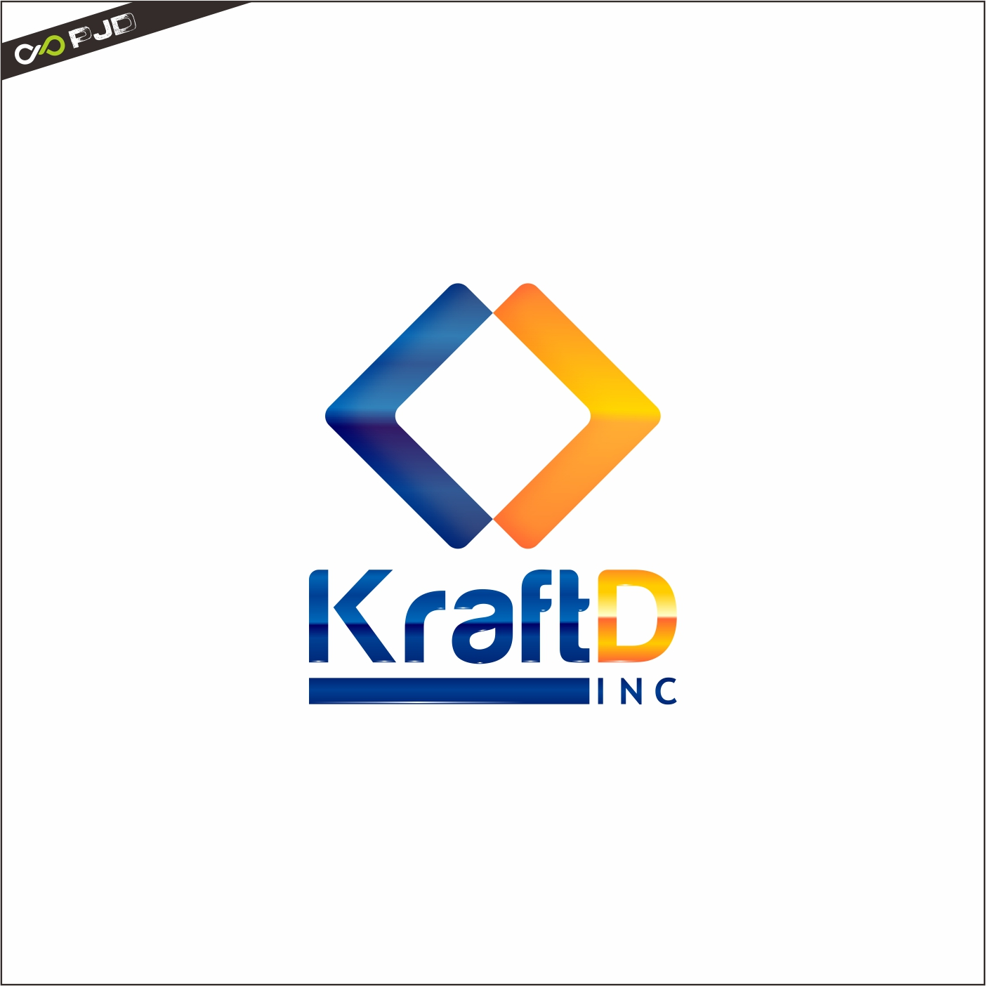 Logo Design by PJD - Entry No. 475 in the Logo Design Contest Unique Logo Design Wanted for Kraft D Inc.