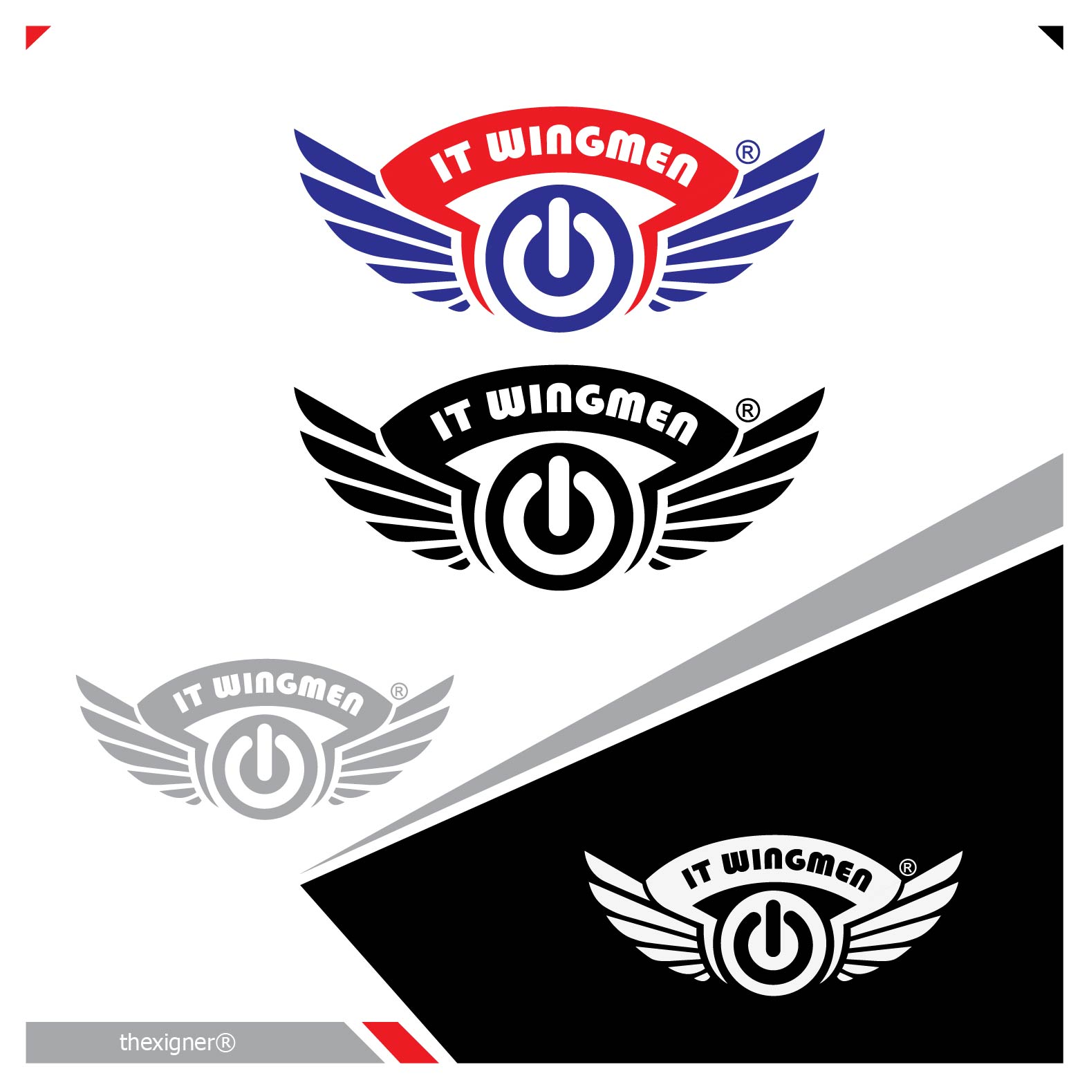 Logo Design by lagalag - Entry No. 49 in the Logo Design Contest New Logo Design for IT Wingmen.