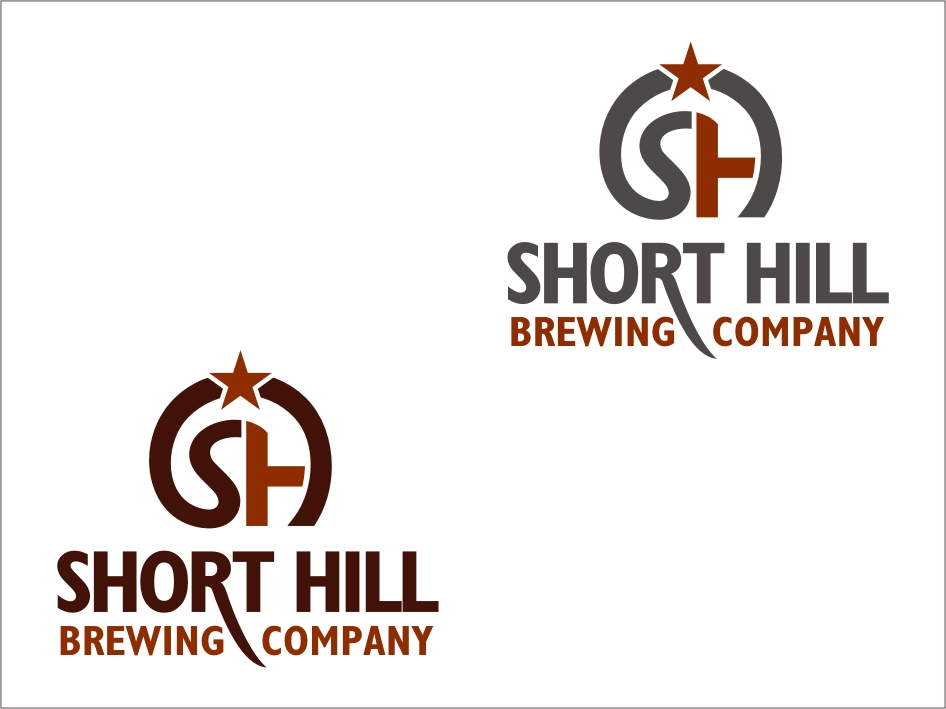 Logo Design by RED HORSE design studio - Entry No. 77 in the Logo Design Contest Unique Logo Design Wanted for Short Hill Brewing Company.