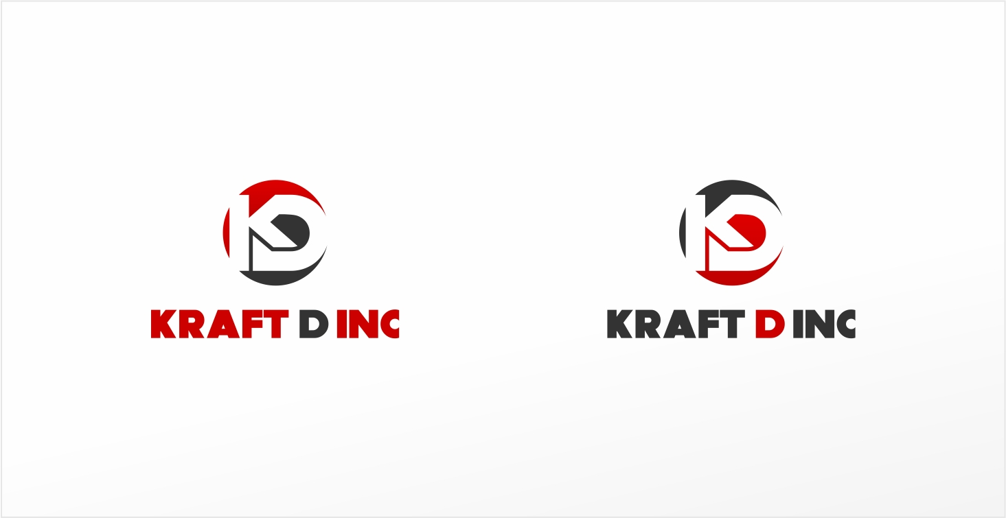 Logo Design by haidu - Entry No. 476 in the Logo Design Contest Unique Logo Design Wanted for Kraft D Inc.