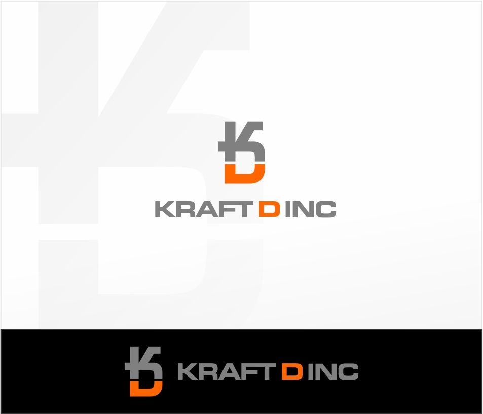 Logo Design by haidu - Entry No. 478 in the Logo Design Contest Unique Logo Design Wanted for Kraft D Inc.