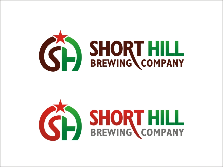 Logo Design by RED HORSE design studio - Entry No. 79 in the Logo Design Contest Unique Logo Design Wanted for Short Hill Brewing Company.