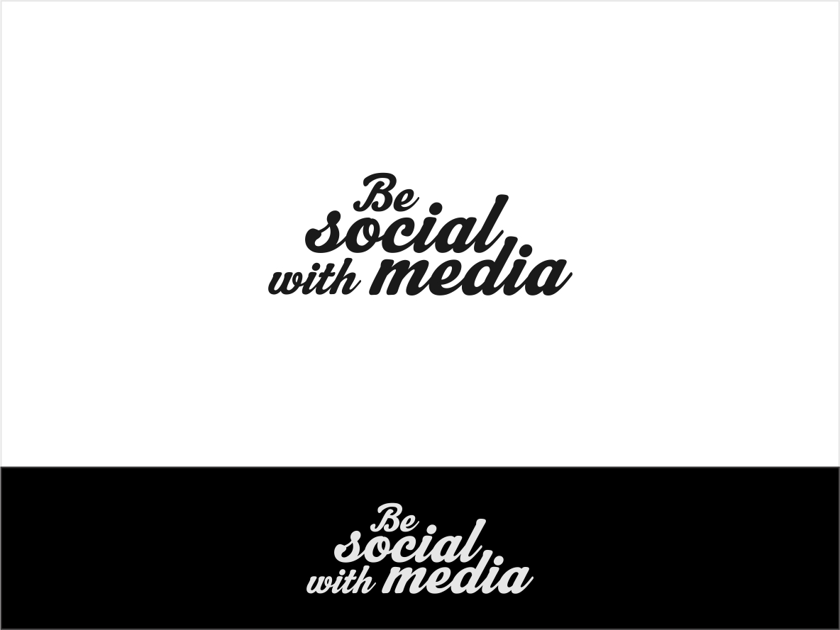 Logo Design by haidu - Entry No. 41 in the Logo Design Contest Imaginative Logo Design for Be Social With Media.