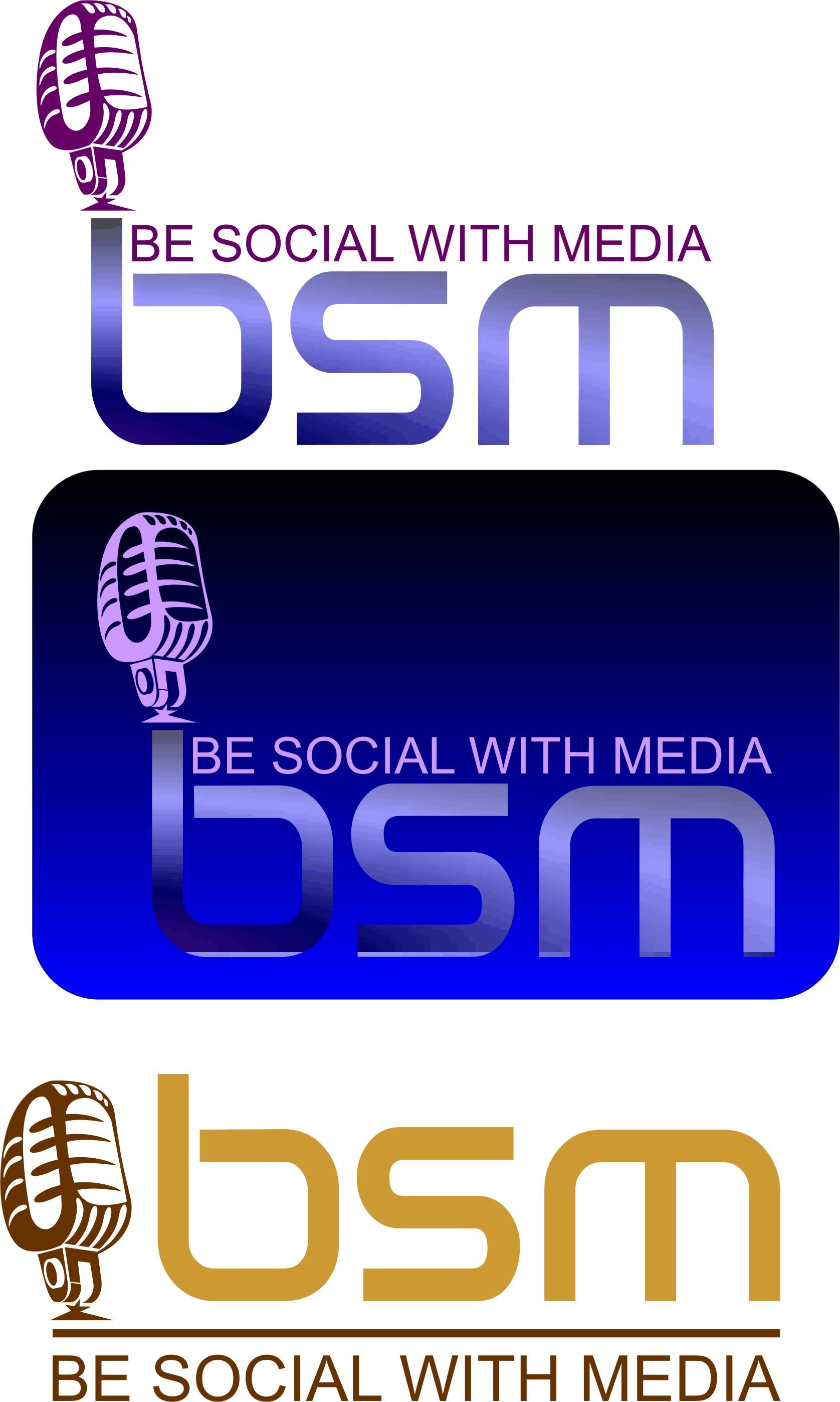 Logo Design by Korsunov Oleg - Entry No. 42 in the Logo Design Contest Imaginative Logo Design for Be Social With Media.