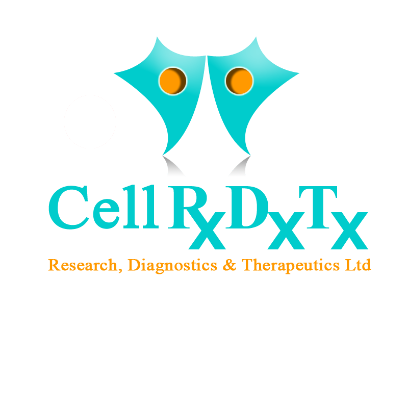 Logo Design by zams - Entry No. 156 in the Logo Design Contest Cell Research, Diagnostics & Therapeutics Ltd (RxDxTx).
