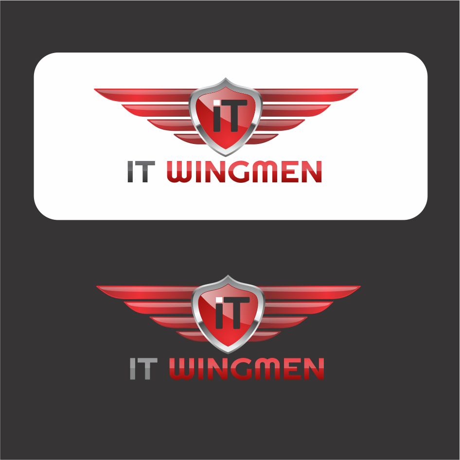 Logo Design by DENOK - Entry No. 53 in the Logo Design Contest New Logo Design for IT Wingmen.