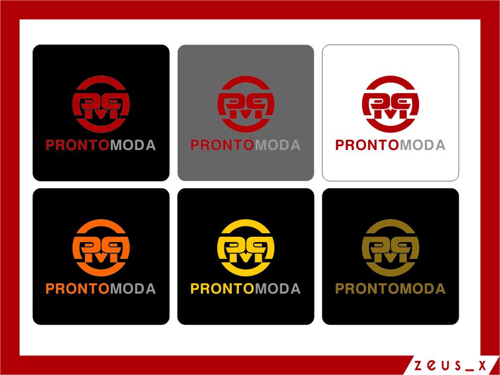 Logo Design by Ngepet_art - Entry No. 55 in the Logo Design Contest Captivating Logo Design for Pronto moda.